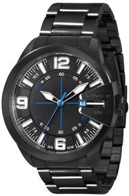 Relógio Lince Masculino Preto - Mrn4268s P2px