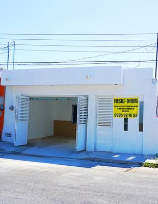 Casa Remodelada A Dos Cuadras Del Malecón De Progreso