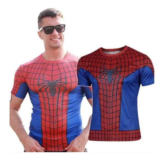 Camiseta Deportiva Superheroes Marvel Spiderman Xtreme C