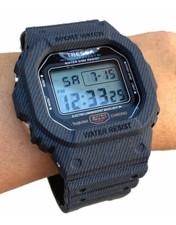 Reloj Tressa Zulu Digital Wr 50mts. - Cuotas! Casa Tagger