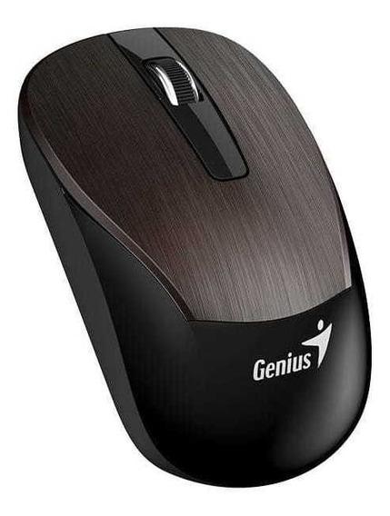 Mouse Wireless Genius 31030007404 Eco-8015 Chocolate 2,4ghz