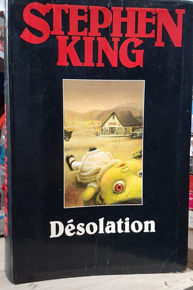 Livro Désolation Stephen King