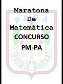 Apostila 50 Questões Matemática Pm - Pa