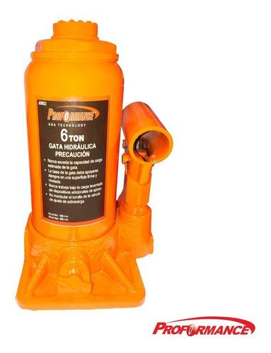Gata Hidráulica Botella 6 Toneladas Para Autos / J0602