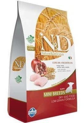 Ração Farmina N&d Low Grain Frango Cães Filhotes De Raças Pe