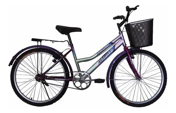 Bicicleta Panther Peregrina Equipada Canasta Rod 24