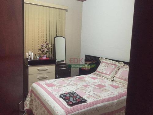 Imagem 1 de 15 de Casa Com 4 Dormitórios À Venda, 210 M² Por R$ 260.000 - Piquete - Piquete/sp - Ca4844