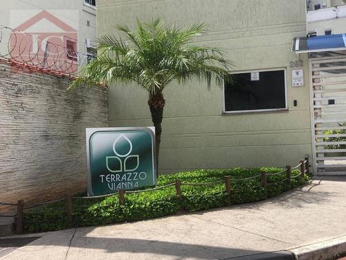 Apartamento Com 2 Dormitórios À Venda, 49 M² Por R$ 260.000 - Jardim Santa Izabel - Cotia/sp - Ap0353