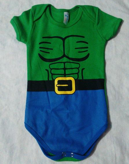 Body Infantil Hulk