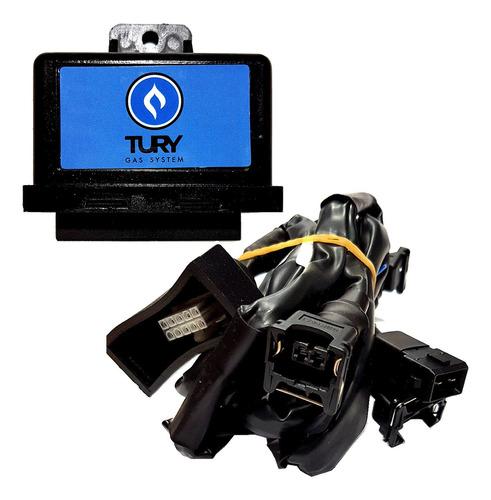 Imagem 1 de 6 de Emulador 4 Bicos Flex Tury Gas Simulador/desliga Bicos T54