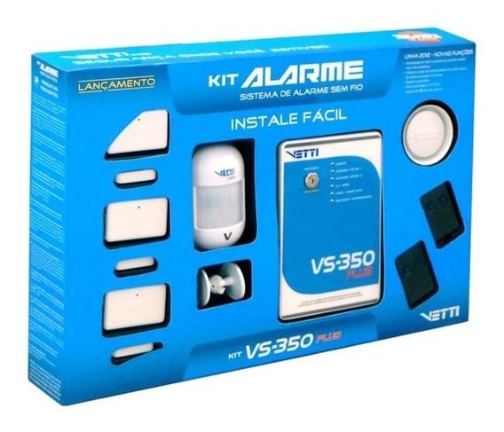 Kit De Alarme Residencial Vs 350 Plus Vetti