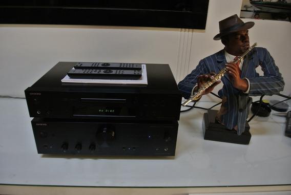 Amplificador Integrado E Cd Onkyo