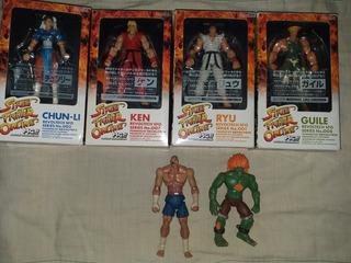 Figuras Street Fighter Revoltech Y Jazwares