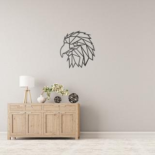 Quadro Decorativo Parede Animal Águia Minimalista 02 60cm