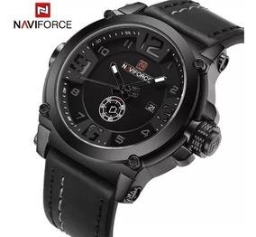 Relógio Masculino De Luxo Naviforce 9099 Quartz Original