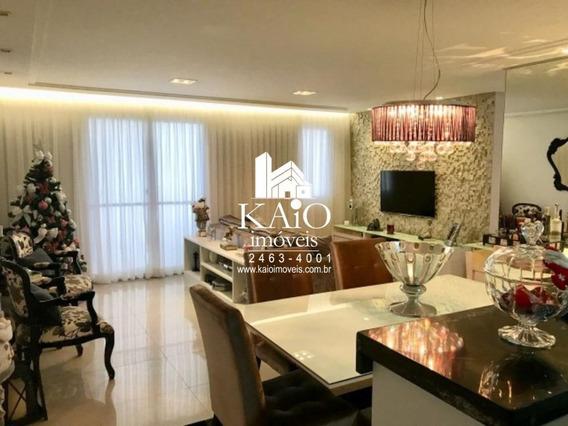 Lindo Apartamento De 103m² Com 3 Dormitórios 1 Suite 2 Vagas, Centro - Ap1046