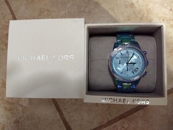 Reloj Mk Dama Mk6684 Color Turquesa