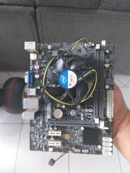 Kit Placa Mãe E Processador, Memoria 1155