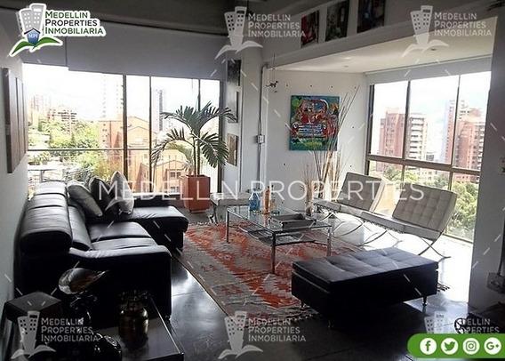 Alquiler De Apartamentos Amoblados En Medellín Cód: 4607