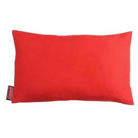 Travesseiro Coleman Dobrável Vermelho Camping E Viagens