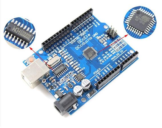 Arduino Uno R3 Chip Atmega328 Smd Ch340