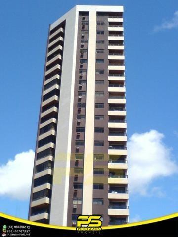 Oportunidade, Apartamento, 04 Suítes, Closet, 02 Salas, Varandas, 03 Vagas, Dce, 181,39 M², Lazer Completo Em Miramar, João Pessoa - Paraiba - Ap2734