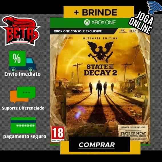 State Of Decay 2 - Xbox One - Midia Digital + Brinde