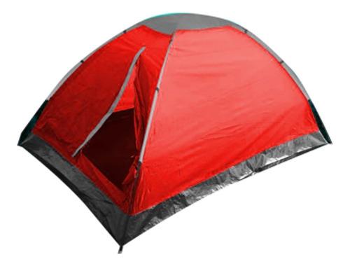 Carpa Camping Playera 2 Personas Resistente Agua Campamento