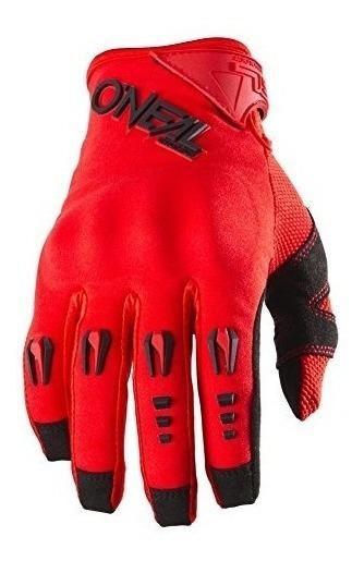 Oneal Mens Hardwear Guante De Hierro (rojo, Tamaño 10)