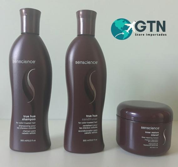 Senscience True Hue 300 Ml - Shampoo+condicionador+ Mascara