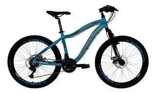 Bicicleta Mtb Infantil Athor Aro 24 Orion Shimano Disco