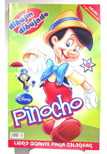 Imagen 1 de 1 de Revista Disney Colorea Pinocho