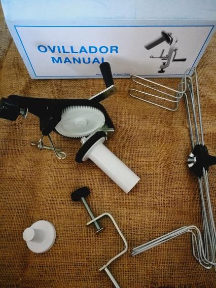 Devanador Ovillador Manual Completo Madejero Para Lana Hilo