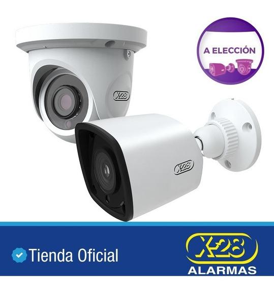 2 Cámaras X-28 Seguridad Metal 1080p Ip66