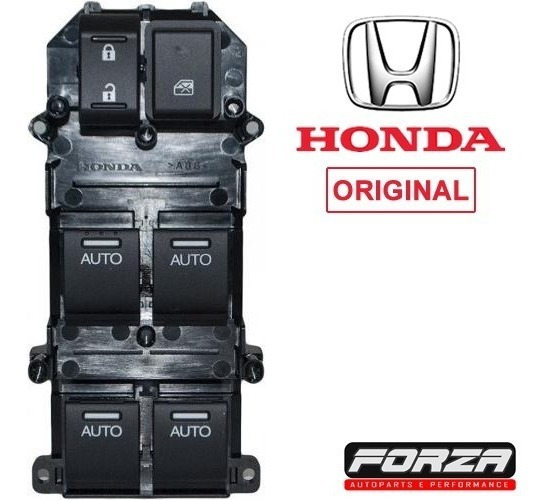 Botão Vidro Elétrico Motorista Honda Civic 2012 13 14 15 16