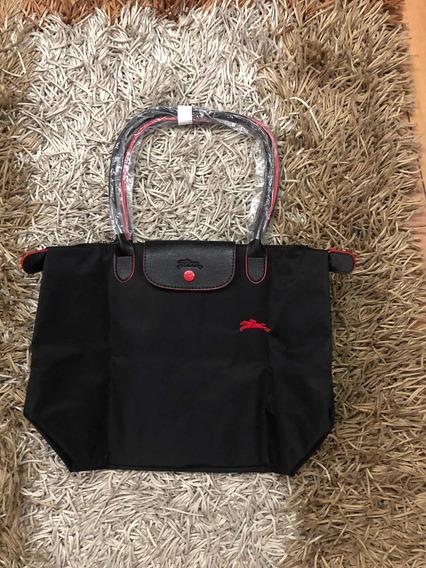 Longchamp Le Pliage Negra Bolsa Grande L Modelo 2019