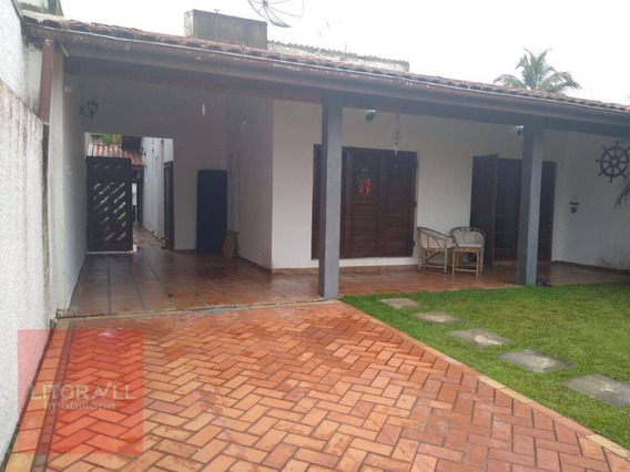 Casa Com 4 Dormitórios Para Alugar, 213 M² Por R$ 2.200,00/mês - Cibratel Ii - Itanhaém/sp - Ca1692