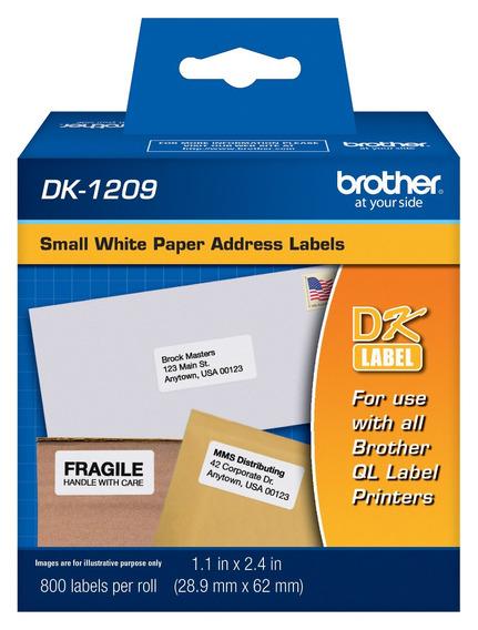 Etiquetas Brother De Dirección Dk-1209