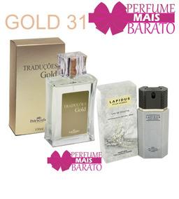 Perfumes Traduções Gold 31- Lapidus