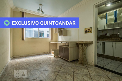 Apartamento No 1º Andar Mobiliado Com 1 Dormitório - Id: 892908897 - 208897