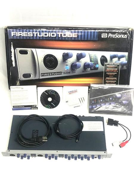 Pre Amplificador Presonus Fire Studio Tube Valvulado - Usado
