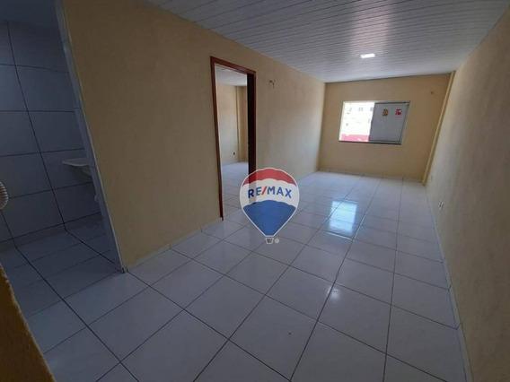 Locação Apartamento Para Casal E Solteiro, Dunas, Cidade 2000, Um Quarto, Pronto Para Morar - Ap0067