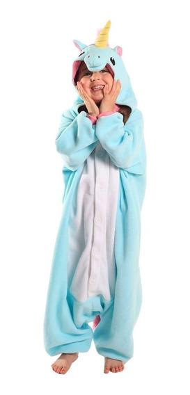 Pijama Mameluco Unicornio Niño Niña Disfraz Love Home