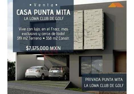 Tu Nueva Casa De Lujo En Club De Golf La Loma!