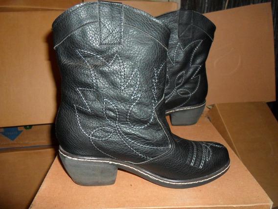 Botas - Botinetas - Texanas Negras - Zapatos Pepe Cantero -