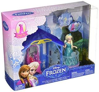 Disney Frozen Magiclip Flip N Switch Castle Y Elsa Doll