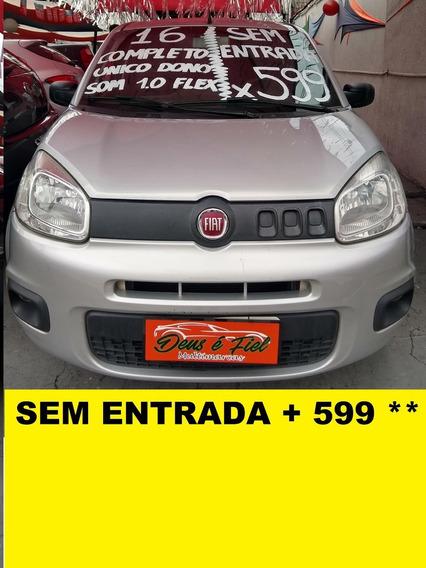 Fiat Uno Attractive 1.0 Flex Completo 4pts
