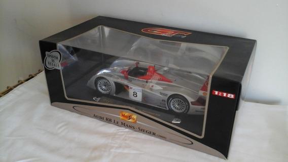 Audi R8 Le Mans - Sieger Año 2000, Escala 1:18, Por Maisto