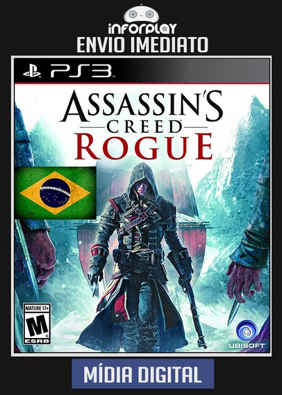 Assassins Creed Rogue Português Ps3 Psn Envio Imediato