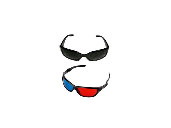 Oculos 3d + Furadinho - Olhos De Aguia
